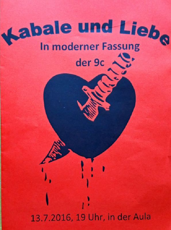Briefe In Kabale Und Liebe : Kabale und liebe igs kastellaun